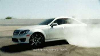 2014 Mercedes-Benz E350 Sport TV Spot, 'Heat on the Track' - Thumbnail 6