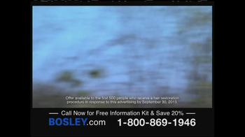 Bosley TV Spot, 'Choice' - Thumbnail 7