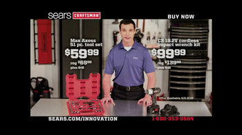 Craftsman Max Access, TV Spot, 'Craftsman: Innovation'