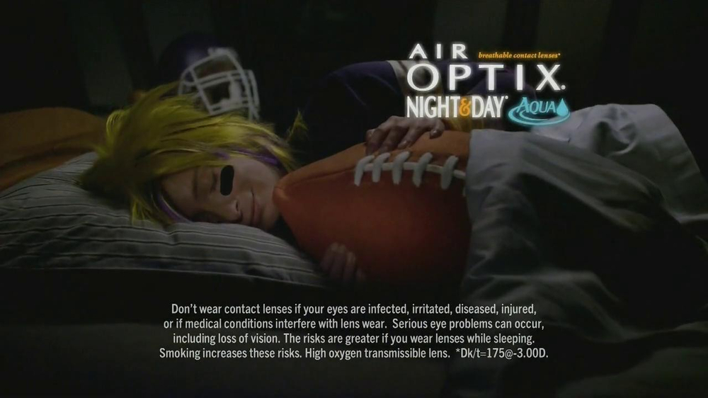 Air Optix Night And Day Tv Commercial Your Business