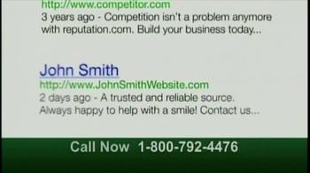 Reputation.com TV Spot, 'Search Results' - Thumbnail 7