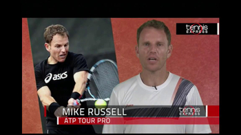 Tennis Express TV Spot, 'Game On' Featuring Mike Russell - Thumbnail 2