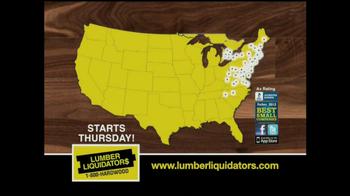Lumber Liquidators Bamboo & Hardwood Sale TV Spot - Thumbnail 9
