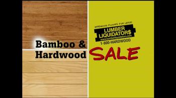 Lumber Liquidators Bamboo & Hardwood Sale TV Spot - Thumbnail 1