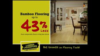 Lumber Liquidators Bamboo & Hardwood Sale TV Spot - Thumbnail 5