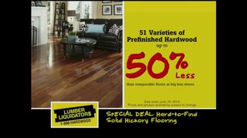 Lumber Liquidators Bamboo & Hardwood Sale TV Spot - Thumbnail 7