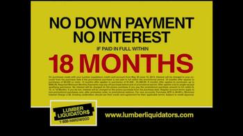 Lumber Liquidators Bamboo & Hardwood Sale TV Spot - Thumbnail 8
