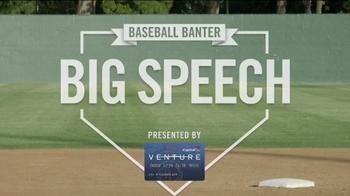 Capital One TV Spot, 'Baseball Banter: Big Speech' - Thumbnail 1