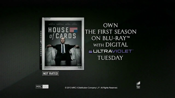 House of Cards: The Complete First Season Blu-ray TV Spot - Thumbnail 10