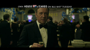 House of Cards: The Complete First Season Blu-ray TV Spot - Thumbnail 9