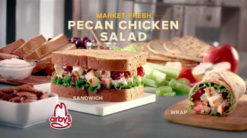 Arby's Market Fresh Pecan Chicken Salad TV Spot - Thumbnail 8