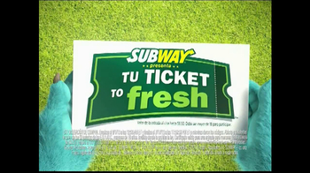Subway TV Spot, 'Monsters University' [Spanish] - Thumbnail 3