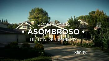 Xfinity Internet TV Spot, 'Como Hacer Asombroso un dia Limpieza' [Spanish] - Thumbnail 1