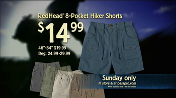 Bass Pro Shops Go Outdoors Event TV Spot 'Shorts' - Thumbnail 6