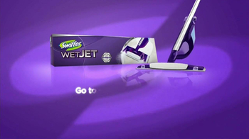 Swiffer WetJet TV Spot, 'Bowling Ball Romance' Song by Hot Chocolate - Thumbnail 9