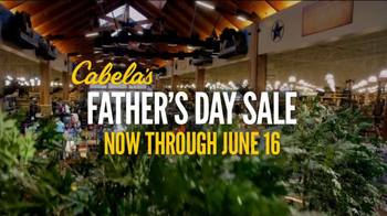 Cabela's TV Spot, 'Father's Day Fishing Sale'