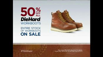 Sears One Day Sale TV Spot, 'Man of Steel' - Thumbnail 6