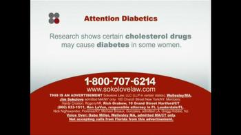 Sokolove Law TV Spot, 'Diabetes' - Thumbnail 2