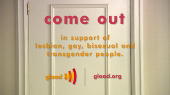 GLAAD TV Spot, 'Coming Out' Featuring Brenda Strong - Thumbnail 7