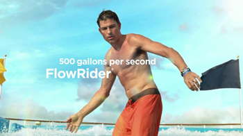 Royal Caribbean Cruise Lines TV Spot, 'Zip Line' Song by Flo Rida