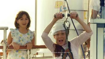 Royal Caribbean Cruise Lines TV Spot, 'Zip Line' Song by Flo Rida - Thumbnail 3