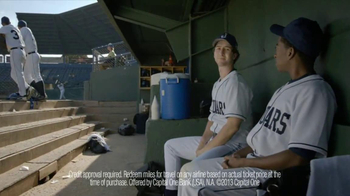 Capital One TV Spot, 'Baseball Banter: Bedazzled' - Thumbnail 6