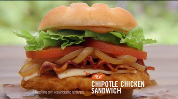 Burger King Chipotle Chicken Sandwich TV Spot, 'Aliens' - Thumbnail 9