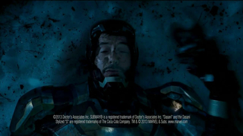Subway TV Spot, 'Iron Man 3' Featuring Robert Downey, Jr. - 115 commercial airings