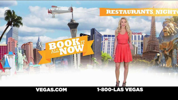 Vegas.com TV Spot, 'One of a Kind City' - Thumbnail 8