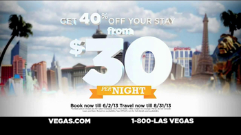 Vegas.com TV Spot, 'One of a Kind City' - Thumbnail 3