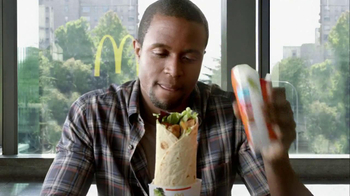 McDonald's Premium McWrap TV Spot, 'One Bite' - Thumbnail 2