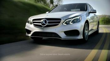 2014 Mercedes-Benz E-Class TV Spot, 'Sudden Stop' - Thumbnail 10
