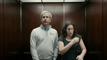 Mitsubishi Electric TV Spot, 'Elevator' Feat. Fred Couples - 130 commercial airings