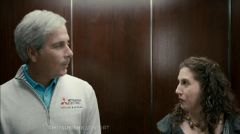 Mitsubishi Electric TV Spot, 'Elevator' Feat. Fred Couples - Thumbnail 3