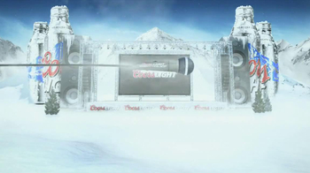 Coors Light TV Spot, 'Search for the Coldest' - 19 commercial airings