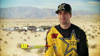 Rockstar Energy Racing TV Spot Featuring Davi Millsaps - 192 commercial airings