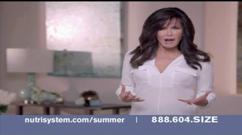 Nutrisystem TV Spot, 'Summer Ready Body' Featuring Marie Osmond - 1470 commercial airings