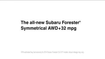 Subaru Forester TV Spot, 'That New Subaru Smell' - Thumbnail 9