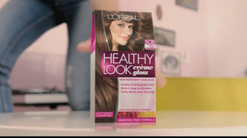 L'Oreal Healthy Look Creme Gloss TV Spot Featuring Barbara Palvin - Thumbnail 2