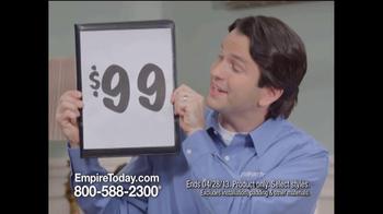 Empire Today TV Spot, '$99 Room Sale: Any Room' - Thumbnail 5