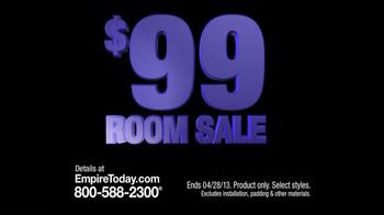 Empire Today TV Spot, '$99 Room Sale: Any Room' - Thumbnail 6