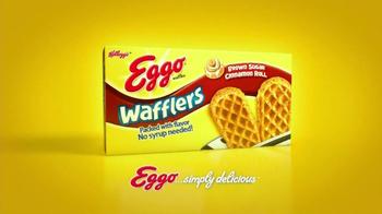 Eggo Wafflers TV Spot, 'Crooked Table' - Thumbnail 9