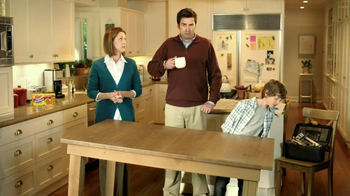 Eggo Wafflers TV Spot, 'Crooked Table'