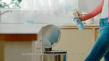 Lysol Disinfectant Spray TV Spot, 'Perfuming vs Healthing' - Thumbnail 8