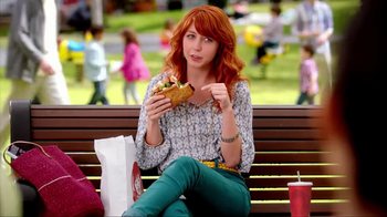 Wendy's Flatbread Grilled Chicken TV Spot, 'Cracker in the Cup Holder' - Thumbnail 3