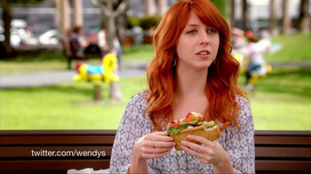 Wendy's Flatbread Grilled Chicken TV Spot, 'Cracker in the Cup Holder' - Thumbnail 5