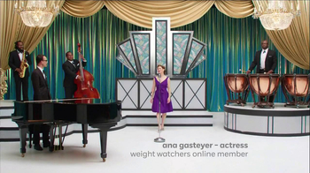 Weight Watchers Online TV Spot, 'Big Band' Featuring Ana Gasteyer - Thumbnail 1