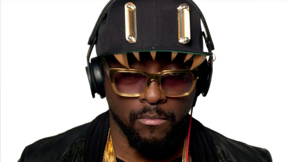 Beats Audio TV Commercial, Song Will.I.am