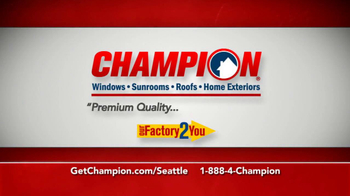 Champion Factory Direct TV Spot For Patio - Thumbnail 4