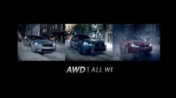 Lexus TV Spot, 'A Little Weather' Song by Malachai - Thumbnail 9